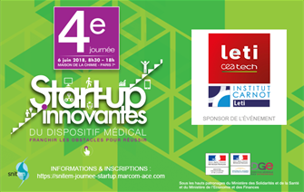 La 4e journée Start-up innovantes du Dispositif Médical