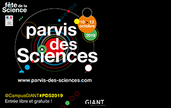 10-12 Octobre, Fête de la science 2019.