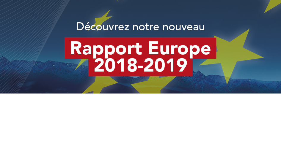 Le rapport Europe 2018-2019 est disponible